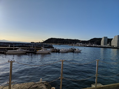 サニーサイドマリーナ浦賀のボート