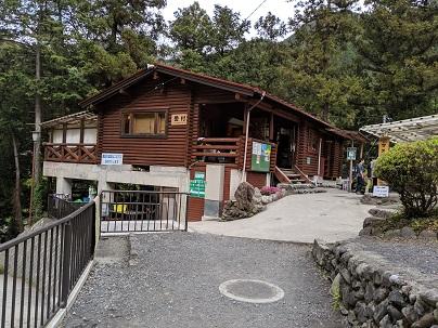 川井キャンプ場受付