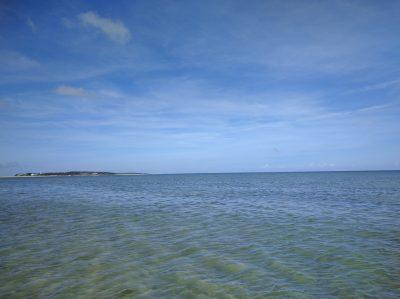 久米アイランドのビーチ