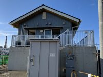 鹿島港海釣園のトイレ